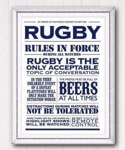 RWC rugby rules